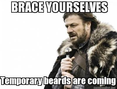 Brace Yourself for Hairy Beards