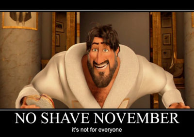 No Shave November is Not for Everyone