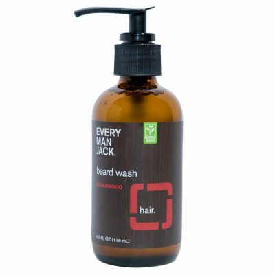 Every Man Jack Cedarwood Beard Wash