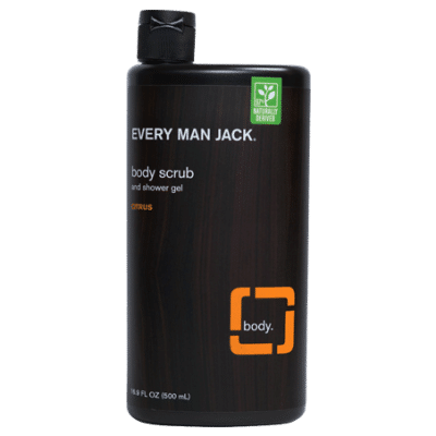 Every Man Jack Citrus Body Scrub & Shower Gel