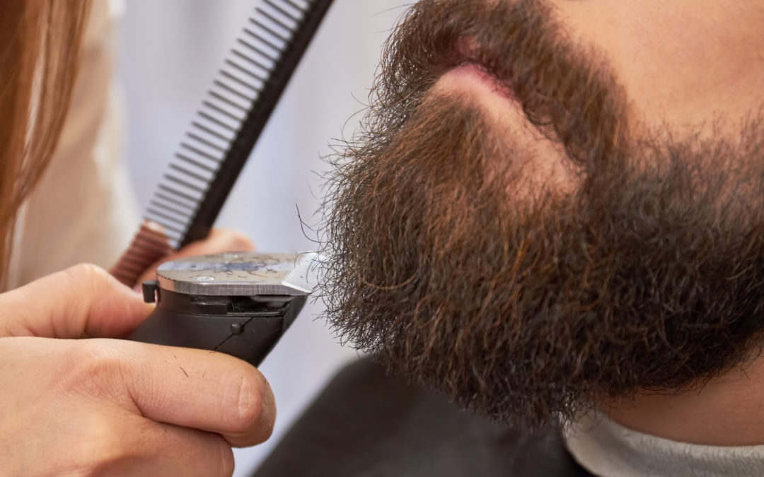 Trimming Your Beard Neckline