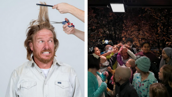 'Fixer Upper' Star Chip Gaines Shaves Head for Charity