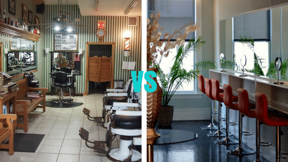 Barber Shop vs Salon: What's the Difference? Which one would you choose?