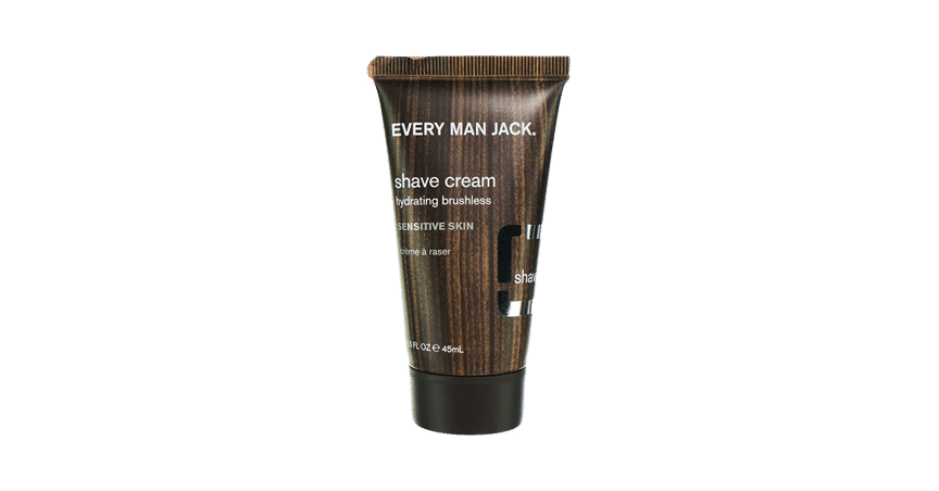 Every Man Jack Fragrance Free Travel Size Shaving Cream