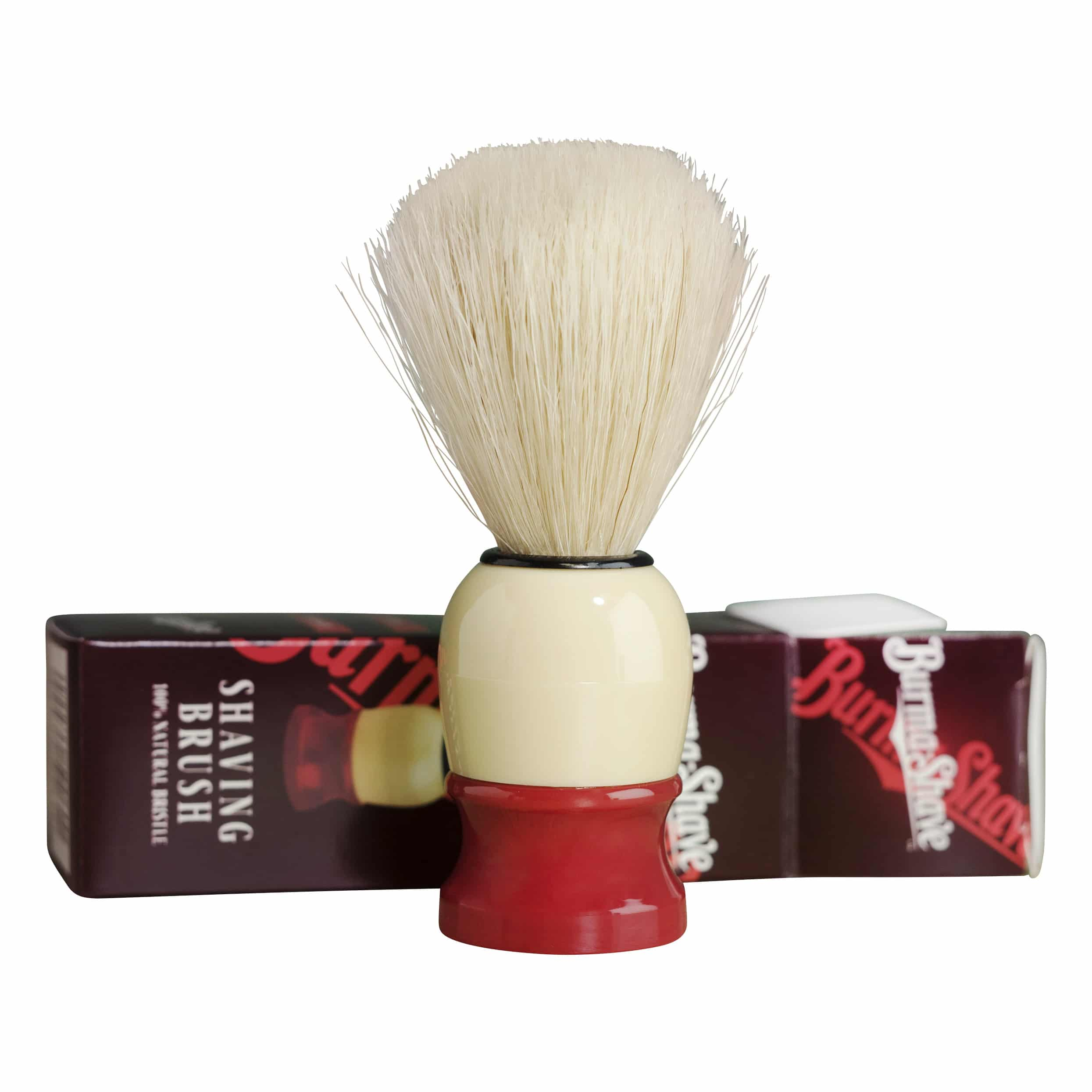 get your best shave with the burma brush