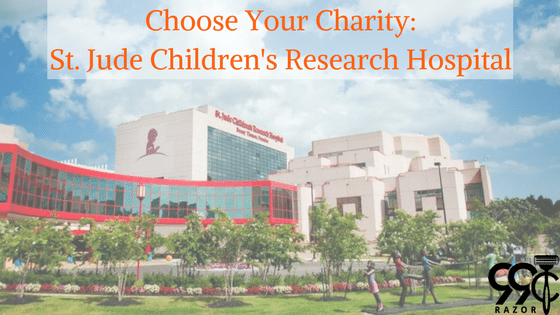 Choose Your Charity: St. Jude Children's Research Hospital