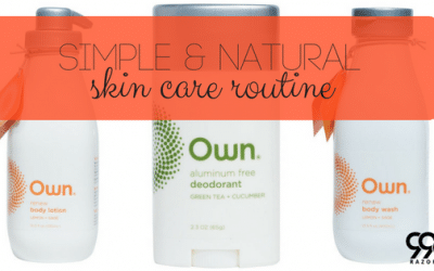Super Simple and All-Natural Skin Care Routine For You