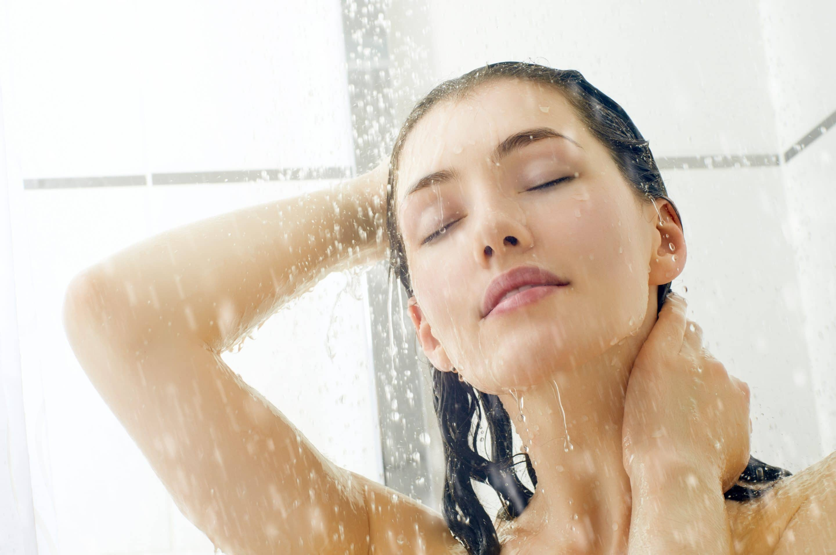 include washing your face as part of your natural skin care routine