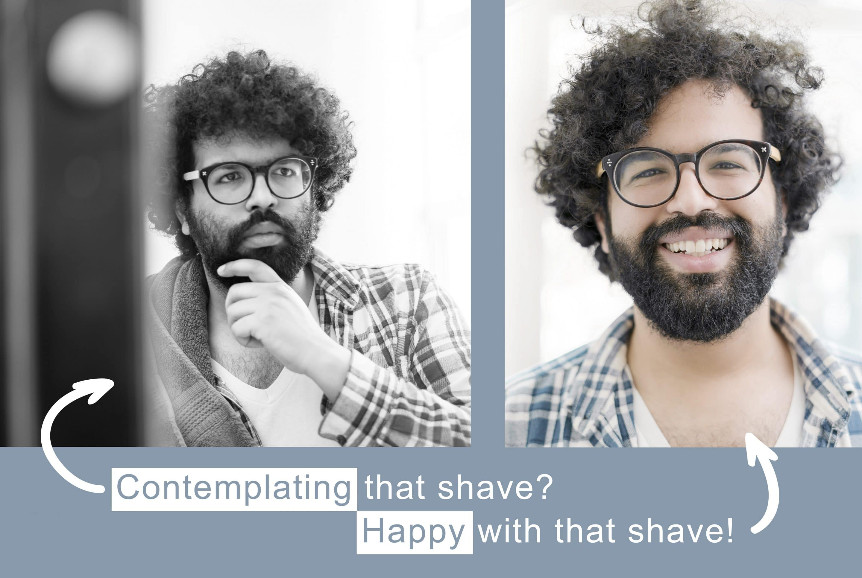 shaving your beard as part of your natural skin care routine